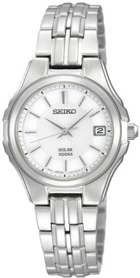 Seiko Solar SUT043 SUT043P1 Ladies Watch