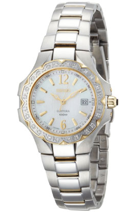 Seiko Coutura SXDB60 SXDB60P SXDB60P9 Ladies 24 Diamonds Watch