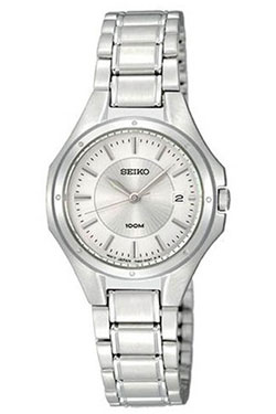 Seiko SXDE11 SXDE11P1 Ladies Dress Watch WR100m