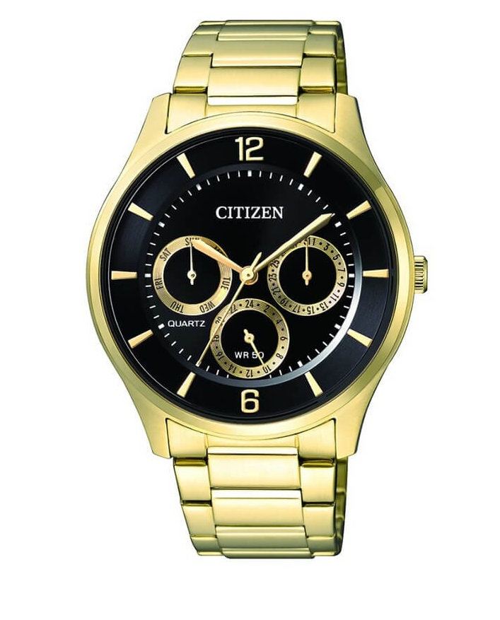 CITIZEN AG8353-81E Mens Watch WR50m gold