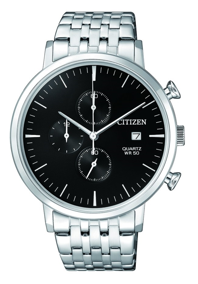 CITIZEN AN3610-55E Mens Watch WR50m black