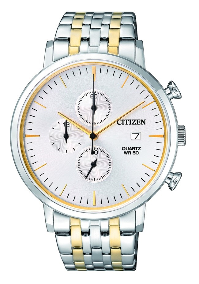 CITIZEN AN3614-54A Mens Watch WR50m two-tone