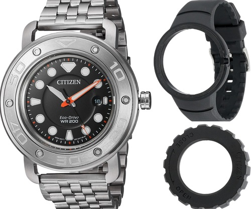 CITIZEN Promaster AW1531-89E Eco-Drive Mens Solar Watch Diver WR200m