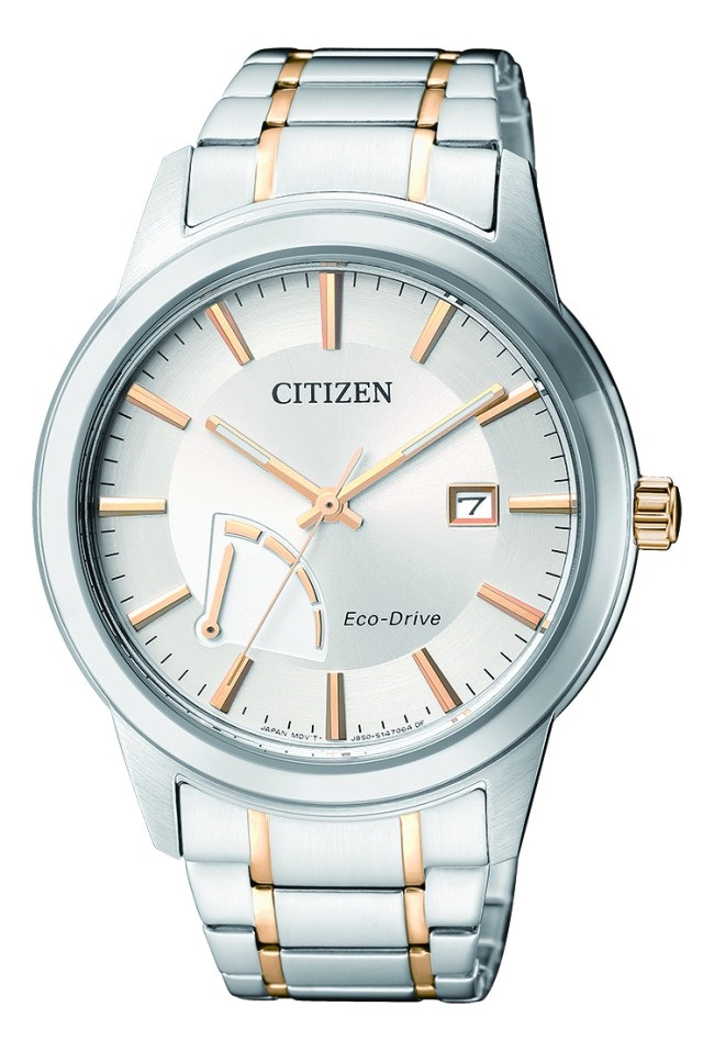 CITIZEN AW7014-53A Eco-Drive Mens Solar Watch two-tone WR100m