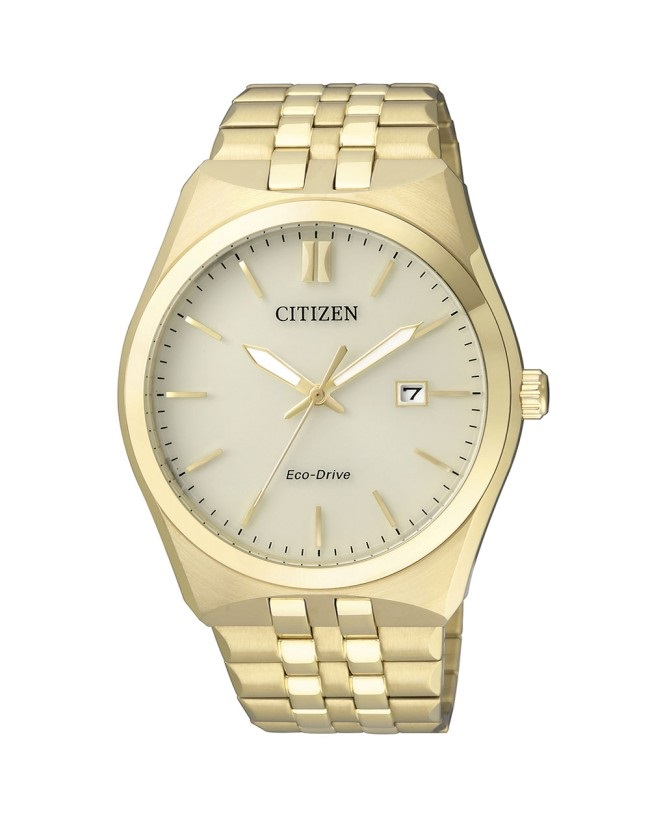 CITIZEN BM7332-61P Eco-Drive Mens Solar Watch gold WR100m