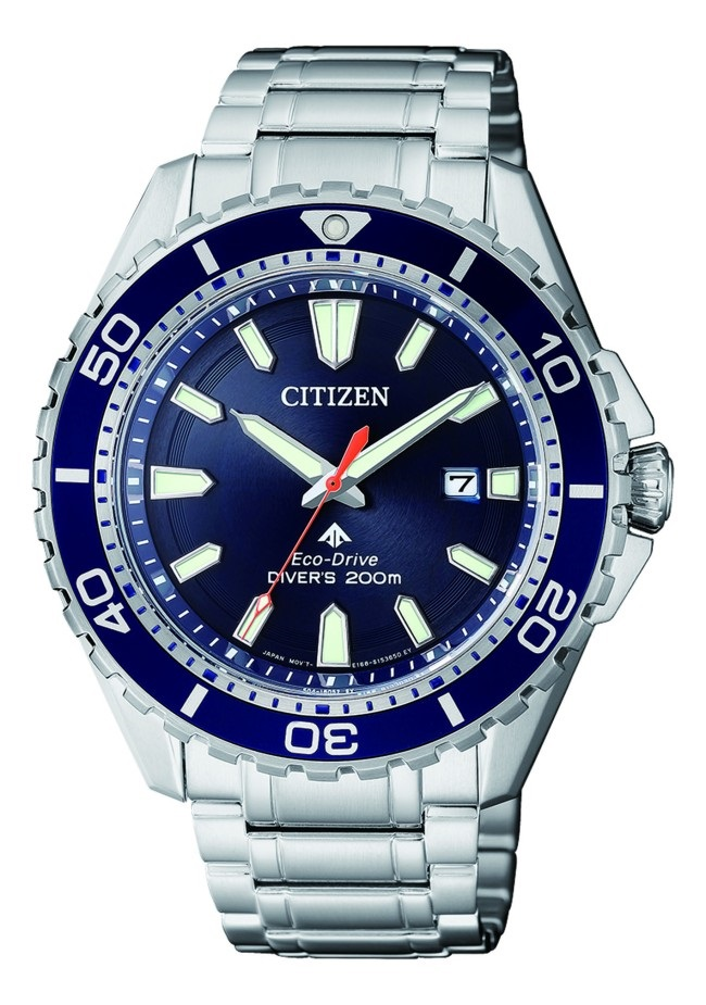 CITIZEN BN0191-80L Eco-Drive Mens Solar Diver's Watch WR200m