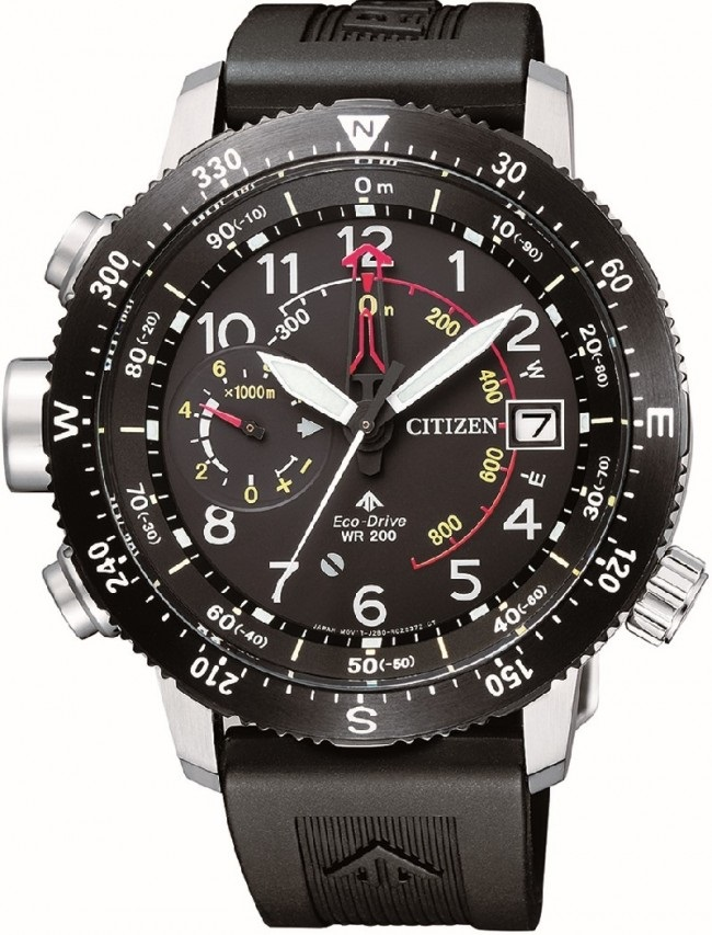 CITIZEN BN4044-15E Eco-Drive Mens Solar Watch WR200m Chronograph