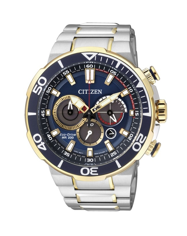 CITIZEN CA4254-53L Eco-Drive Mens Solar Watch WR200m Chronograph