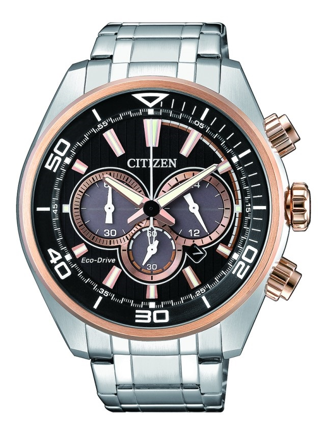 CITIZEN CA4336-85E Eco-Drive Mens Solar Watch WR100m Chronograph