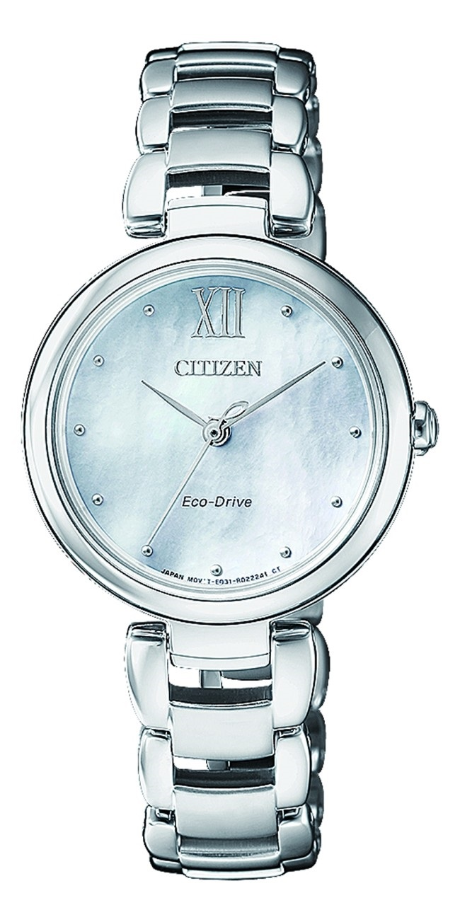 CITIZEN EM0530-81D Eco-Drive Ladies Solar Watch WR50m Silver