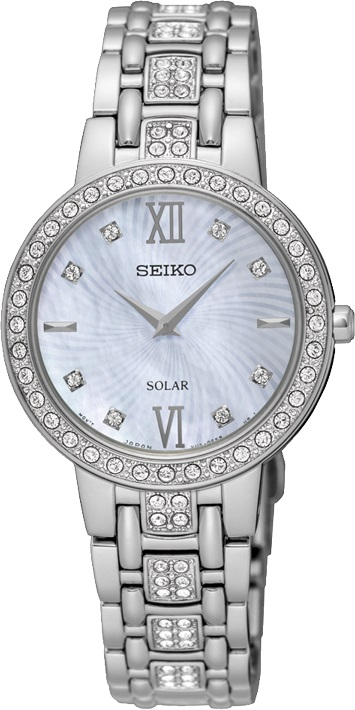 Seiko SUP359 SUP359P9 Ladies Solar Watch WR50m